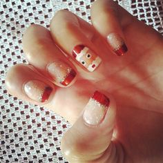 Getting so excited for christmas !!    ~ Christmas Nail Art Designs ~