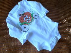 Pumpkin Carriage Shirt by MJDesignsShop on Etsy