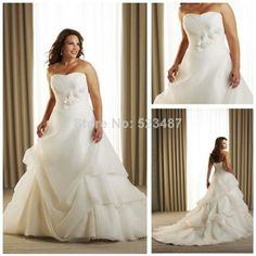 New wedding dresses for young: Big girl wedding dresses for cheap