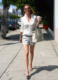 Ellen| Leggy Candids Out and About in West Hollywood