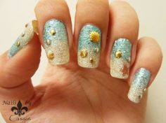 Nails by Cassis: Good-bye Summer! Beach Sand mani