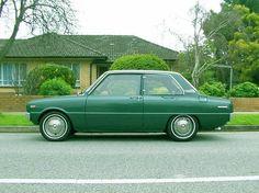 Mazda 1300,  de opvolger van de (mislukte) 1200