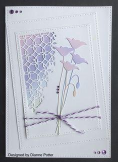 Vivid Flower Stamen Cutting Dies Stencil  Photo Album Card Paper Embossing  YR