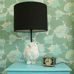 DIY – Owl lamp @Kaley I could totally see this in your place :)