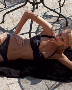 #Costumi #Bikini Wide di SiSi  39,90€  nero/bianco - black/white  #goldenpoint