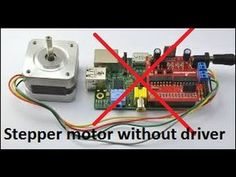 HACKED: Stepper motor without driver! Diy Electronics, Electronics Projects, Motor Arduino, Electronic Circuit Design, Pi Projects, Stepper Motor, Electric Motor, Science And Technology, Engineering
