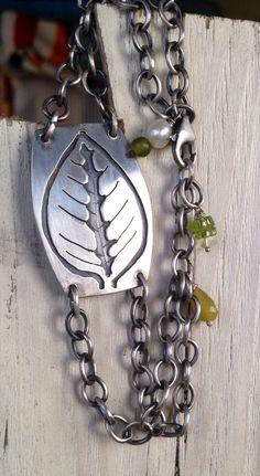 Sterling leaf overlay by Julianne Van Buskirk