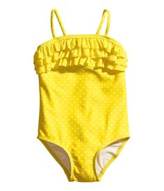 Welcome to H&M, your shopping destination for fashion online. Baby Swimsuit, Ruffle Swimsuit, Little Fashion, Kids Fashion, Swimsuits, Bikinis, Swimwear, H&m Baby, H&m Online