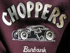 Choppers Hot Rod Club   CHOPPERS CAR CLUB JACKET