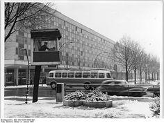 Berlin Friedrichstrasse - Unter den Linden January 1967