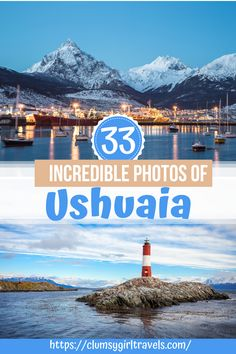 Do you want to visit Ushuaia, Argentina? These photos will make you fall in love with Argentinas beautiful city - plus you will get helpful information on what to do and see, where to stay in Ushuaia and where to eat in Ushuaia.