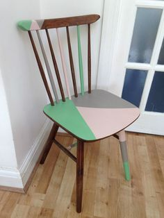 Love to do this to my dining chairs.