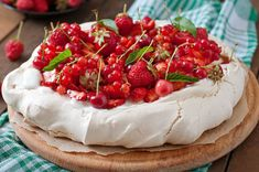 Healthy Eating Over Christmas - The Healthy Body Company Lemon Curd Recipe, Lemon Recipes, What Is Pavlova, Whipped Topping, Camembert Cheese, Tart, Cravings, Strawberry, Healthy Eating