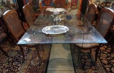 Four Year Fabulous - Provenance Auction House: A Bent Glass Dining Table. South African Art, Glass Dining Table, Highlights, Auction, Flooring, House, Furniture, Home Decor, Decoration Home