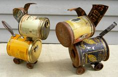 CHIPPER  A Robot Dog  Reclaim2Fame by reclaim2fame on Etsy