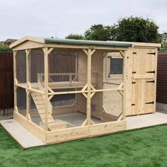 Freedom Bothy within Hutches & Sheds and rabbit enrichment hides supplied by Manor Pet Housing Diy Bunny Cage, Diy Guinea Pig Cage, Bunny Cages, Rabbit Cages, Rabbit Shed, Rabbit Farm, House Rabbit, Rabbit Enclosure, Outdoor Cat Enclosure