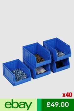 Clear Plastic Storage Jewelry Box Business Card Container Holder