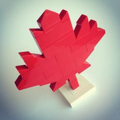 Happy Canada Day to my fellow Canadians! #canadaday #lego - @Jing Liang- #webstagram
