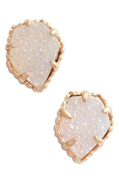 Free shipping and returns on Kendra Scott 'Tessa' Stone Stud Earrings at Nordstrom.com. Glistening, pentagonal stones nestle in gilded frames for sparkly stud earrings.