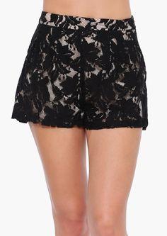 Brooke Lace Shorts