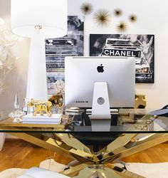 Ashley Tisdale's office got a whole new look with the help of @ZGallerie Style Personalities! See the full tour and shop her style on www.zgallerie.com.
