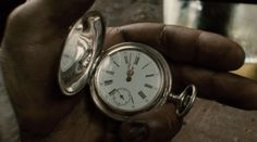 Sherlock Holmes Pocket watch from the recent film version. The silver pocket watch in Robert Downey Jnr's hand here is virtually identical to our Woodford model 1001. See this link http://www.silver2love.com/pocket-watches/sterling-silver-pocket-watches/sterling-silver-hunter-pocket-watch.html