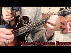 Man of Constant Sorrow- Mandolin Lesson