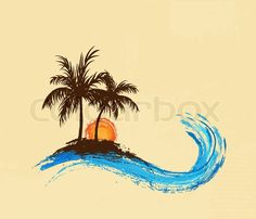 23 ideas for palm tree tattoo ankle waves Hawaiianisches Tattoo, Tattoo Hals, Tattoo Motive, Foot Tattoos, Body Art Tattoos, Small Tattoos, Wave Tattoo Foot, Wave Tattoos, Bird Tattoos