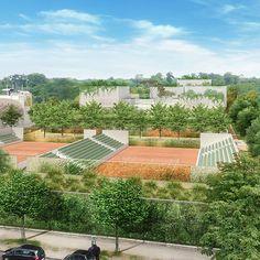 The New RG Stadium - New Roland-Garros Stadium - Roland-Garros 2016