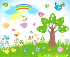 Garden clip art pictures free clipart images 2 Kids canvas art Free clip art Clip art