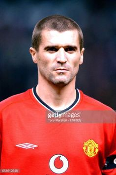 Manchester United 2001 Pictures and Photos David Beckham Manchester United, Roy Keane, Esquire, Madness, Cork, Graphic Art, Legends, Soccer, The Unit
