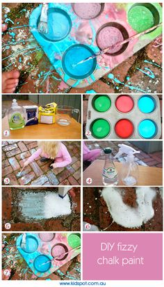 Chalk - Make Your Own - Outdoors