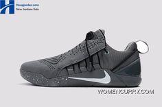 a906db3fce8 Nike Kobe A.D. NXT Dark Grey White Men s Basketball Shoes New Style