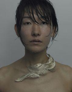 AKIHAMA / ア キ ハ マ   ModelPhoto: Photo Ryu Tamagawa Model SAORI KANDA [ SAORI'An ]  Photo: Hiroyuki Ide http://www.catrie.com/page-bio/page-bio.html