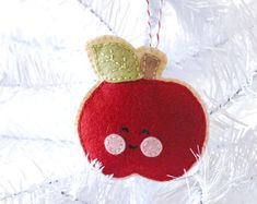 PDF Pattern Smores Autumn Christmas Felt Ornament от sosaecaetano