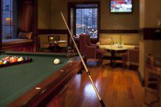 Billiards Room. #StreetView #Tvs #Relax