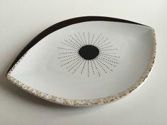 Clin d'oeil - Peinture sur porcelaine - Perle de KaOlin