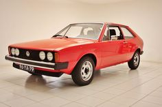 Very neatly restored Volkswagen Scirocco GTI from 30-06-1977.