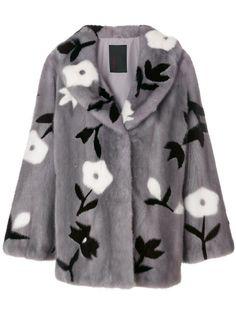 Купить Liska пальто с цветочным узором .