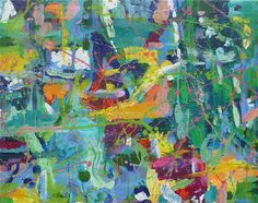 "Saatchi Online Artist: Kaya Hyslop; Acrylic, 2011, Painting ""I can't Remember Painting This"""