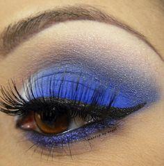 blue face paint | Feeling Blue | Face Paint