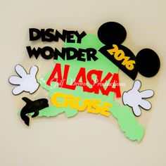 Personalized Alaska Disney Cruise Door by GulfBreezeProduction