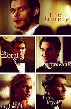 The originals. Vampire diaries wouldn't be as good without them
