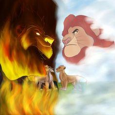 Kingdom Vs Kingdom by Wolf-Chalk on DeviantArt Kiara Lion King, Lion King 3, Lion King Fan Art, Lion King Movie, Disney Lion King, Images Roi Lion, Lion King Images, Lion King Pictures, Lion Wallpaper