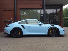 Porsche 911 991 GT3 RS 4.0 500 pk Gulf Blue Ceramic direct leverbaar. - Overzicht - Auto Trader