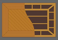 Framed diagonal layout - Best Decking Pattern and Design