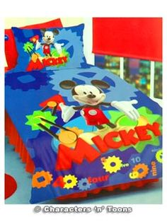 mickey mouse comforter - Google Search