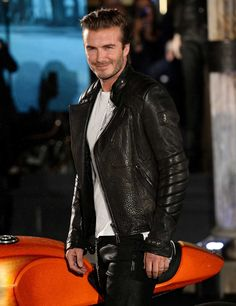 David Beckham for Belstaff: interview | ELLE UK