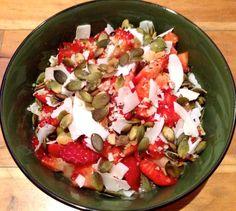 Pudín de chía con fresas y coco www.nuriaroura.com