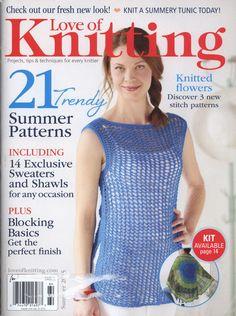 Love of Knitting  Summer 2015 - 轻描淡写 - 轻描淡写
